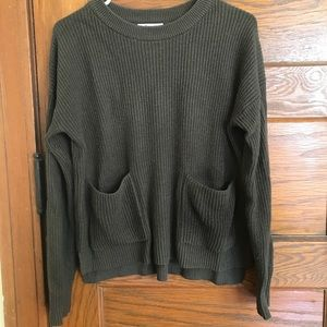 "Olive Madewell ""Patch Pocket Pullover Sweater"""
